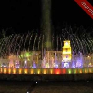 Tańczące fontanny w Marmaris
